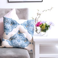 DIY: Tufted Pillow  M&J Blog