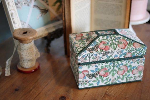 フランス屋根の箱