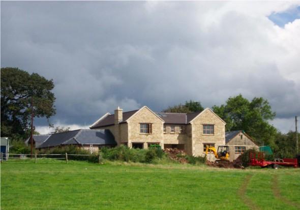 New House Oakhill Bath MJW Architects