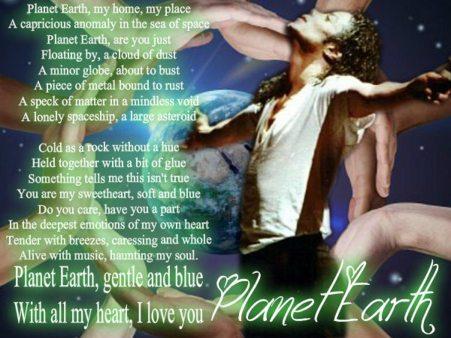 Planet Earth poem