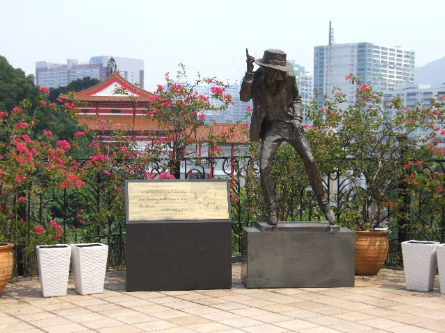 * MJ Statue Hong Kong