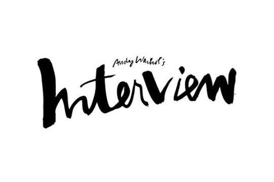 Interview Magazine's logo