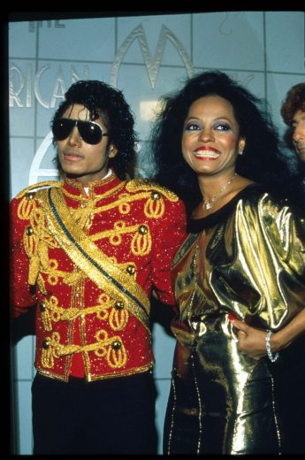 Michael Jackson At The American Music Awards
