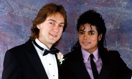 John Branca with Michael