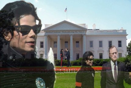 michael at the white house