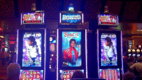 Michael Jackson Slot Machine App