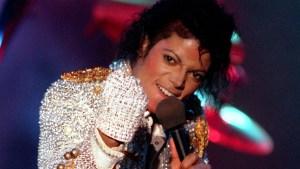Michael's Glove In Exhibition