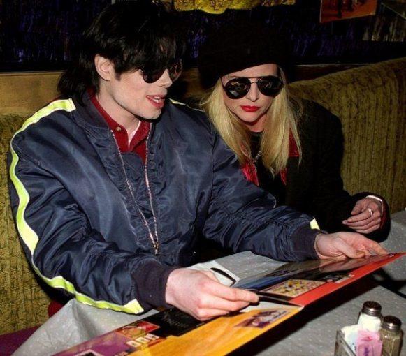 Michael with Karen Faye