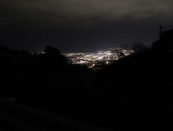 【高知】正蓮寺からの夜景