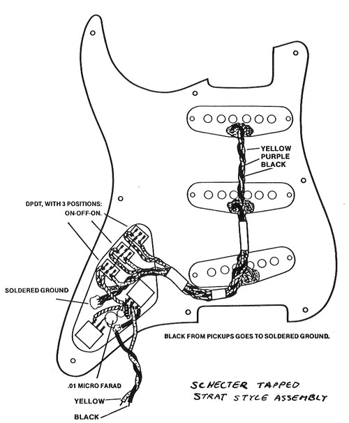 Schecter Guitar Wiring Diagrams : 31 Wiring Diagram Images