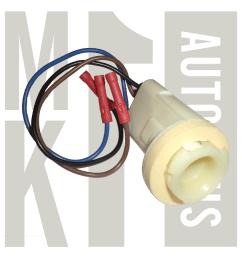 turn signal repair socket with wiring pig tail 14130 zoom [ 1000 x 1000 Pixel ]