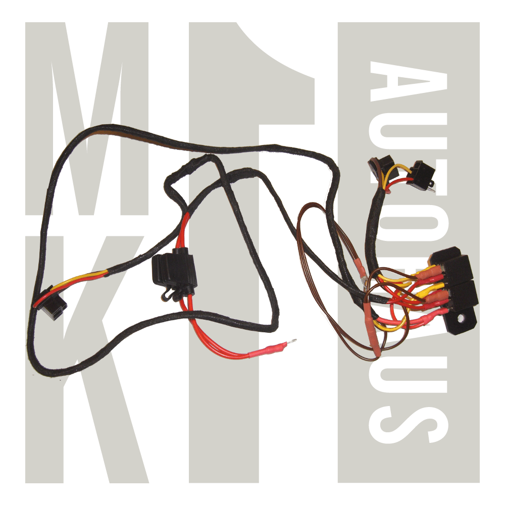 hight resolution of h4 headight upgrade wiring harness wc941w000 zoom