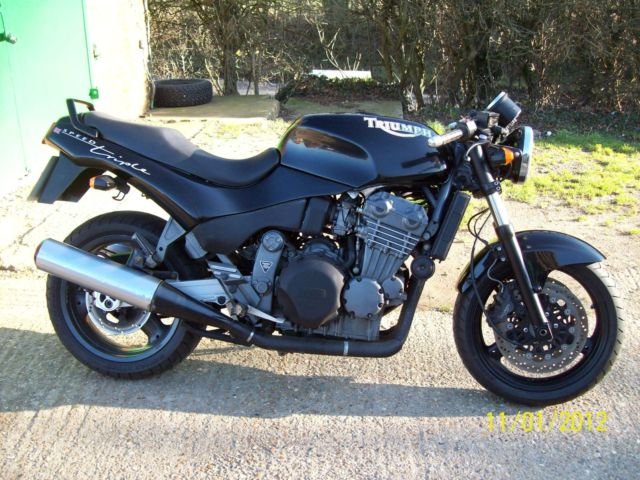 Spotting A Fake MK1 Speed Triple - 1
