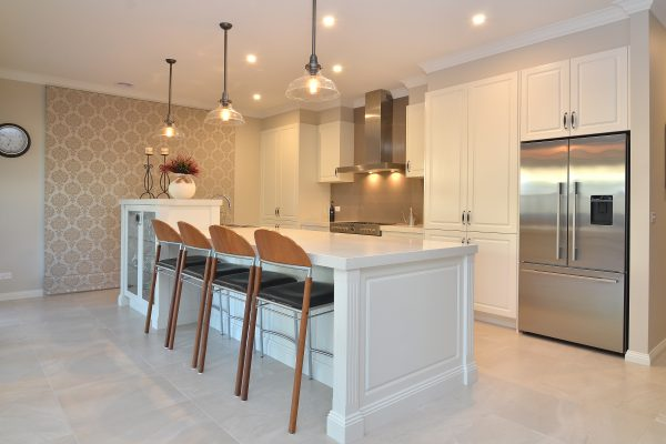 New kitchen built in traditional style Albury