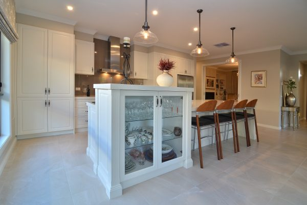 Glass cabinetry Albury