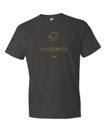 Gold Yosemite t-shirt