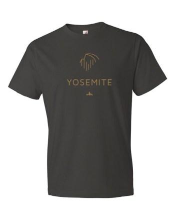 Gold Yosemite t-shirt