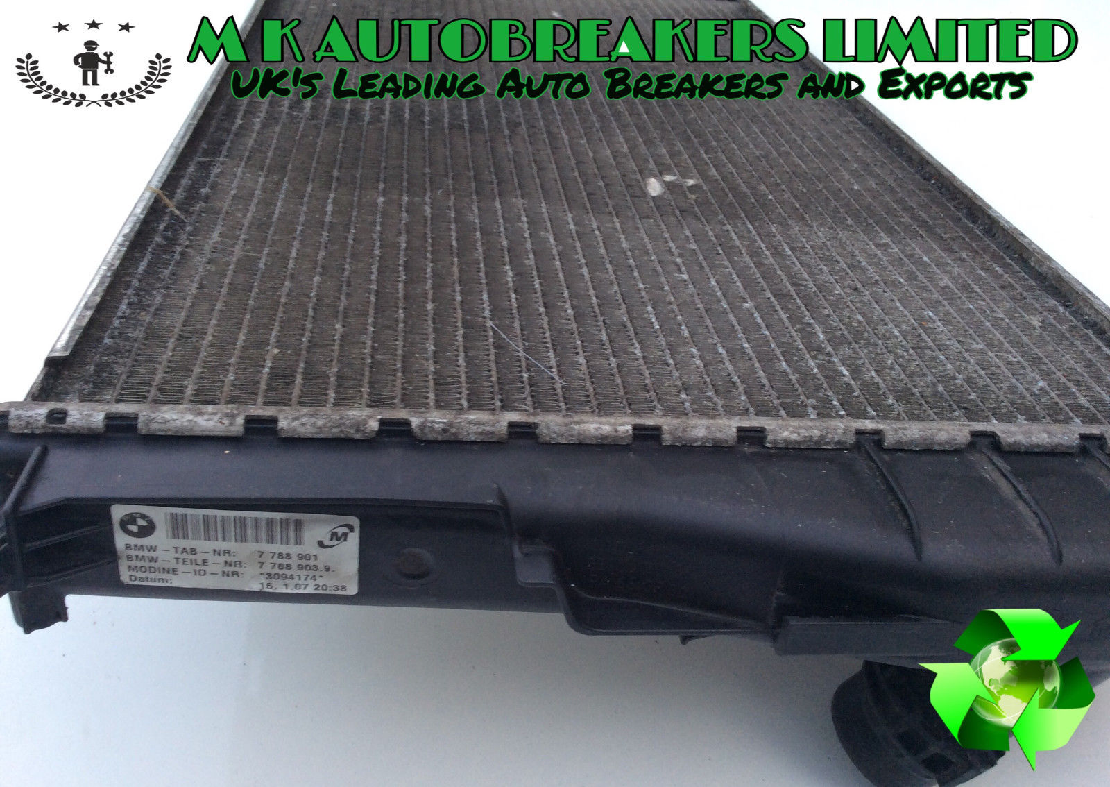 Bmw 3 Series Diesel E90 E91 From 05 08 Engine Coolant Water Radiator Vehicle