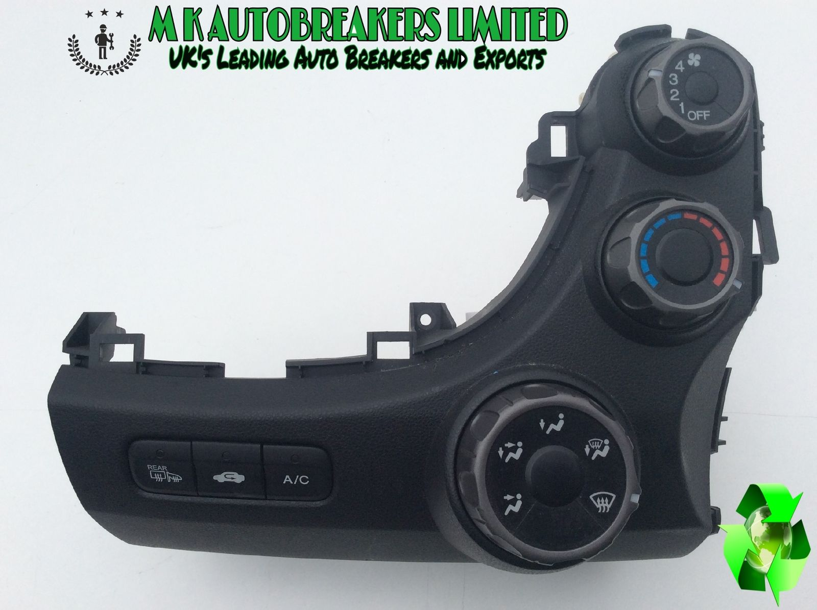 Honda-Jazz From 09-13 AC, Heater, Climate Control Switch (Breaking Parts)