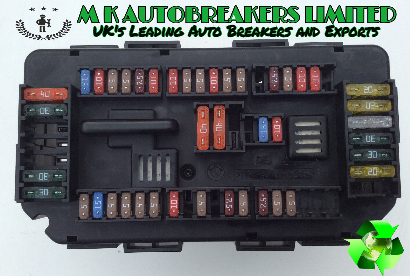 Bmw F30 From 12 15 Under Bonnet Sam Power Fuse Box (breaking For Fuse Box  Buy Spares For Bmw I Fuses And