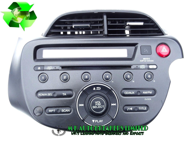 Honda Jazz From 2009 2014 Radio Stereo Cd Player Mp3 Mk