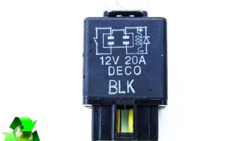 Ssangyong Rodius Model From 05-10 Multi Purpose Blue Relay   MK