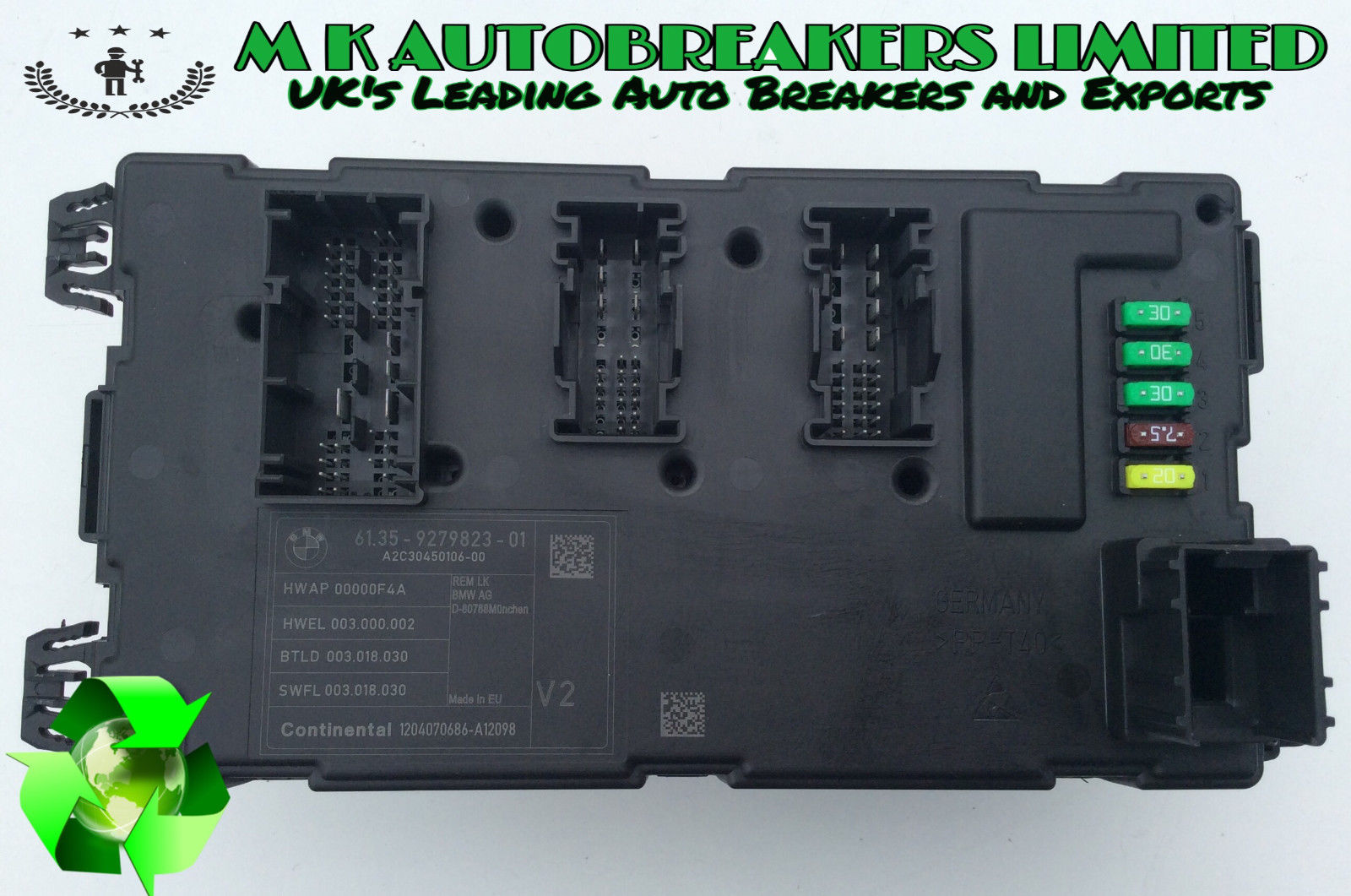 BMW F30 From 12-15 Rear Electronic Sam Fuse box (Breaking For Spare Parts)  | MK Autobreakers Ltd.Car Spares | Breakers Yard | MK Autobreakers Ltd.
