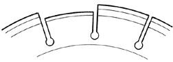Drawing of Segment Loss on Blade