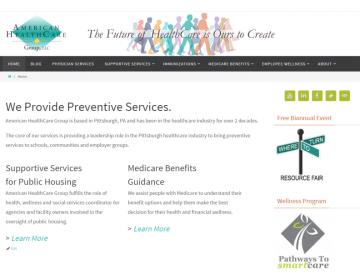 Branding Preventive Services: American HealthCare Group, LLC