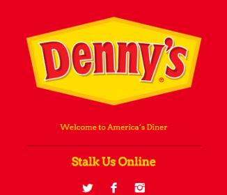 Denny's Tumblr Blog is Killing it!