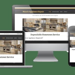 Munch-Appliance-Repair-website-design-mockup