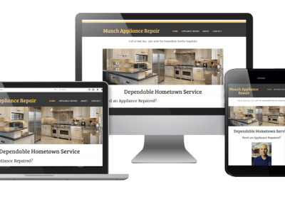 Website Redesign: MunchApplianceRepair.com