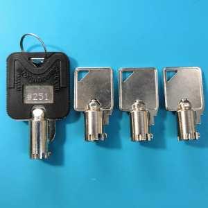 сделать ключ для сейфа
