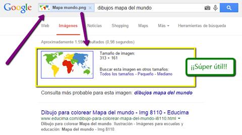 búsqueda por imagen en Google