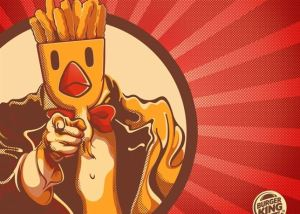 chicken fries burger king