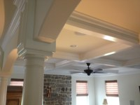 MKI Custom Trimwork and Painting - Coffered Ceilings