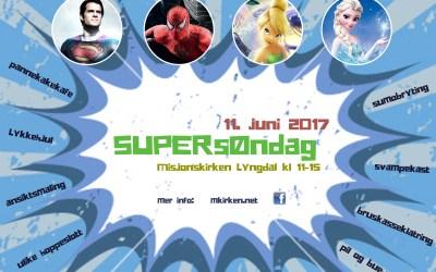 SUPERsøndag 11. juni 2017 kl. 11-15
