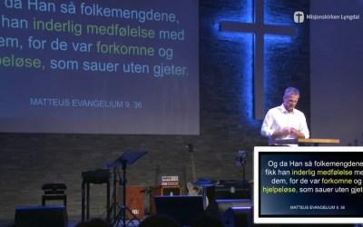 «God pinse» Pastor Jim L. Foss