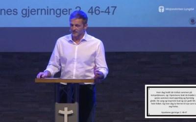 «Hvem er vi – Vitnesbyrdet» del 3 av pastor Jim L. Foss