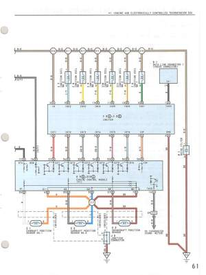Toyota Wiring diagrams, cont