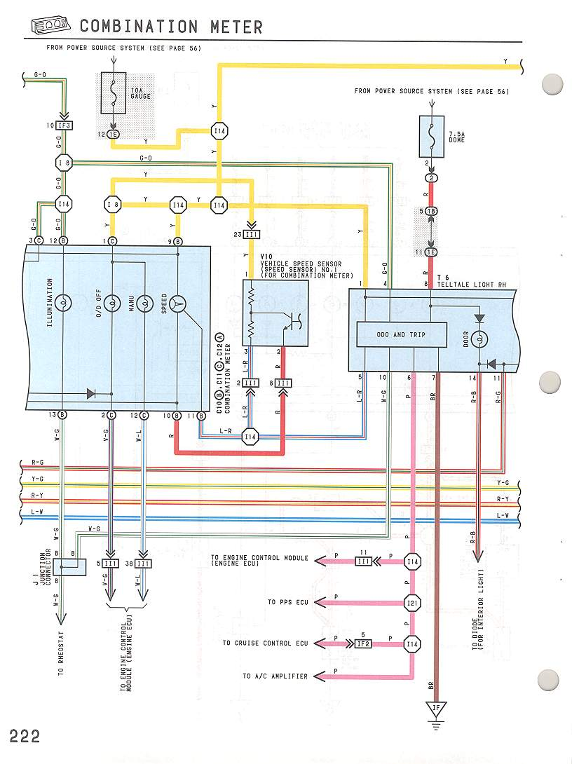 hight resolution of speedometer wire diagram 94 gmc