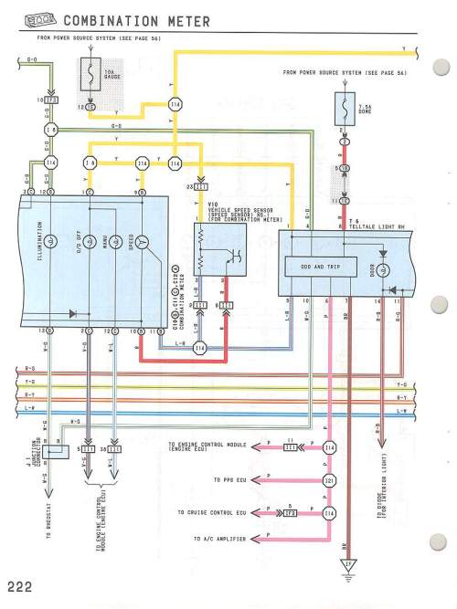 small resolution of speedometer wire diagram 94 gmc