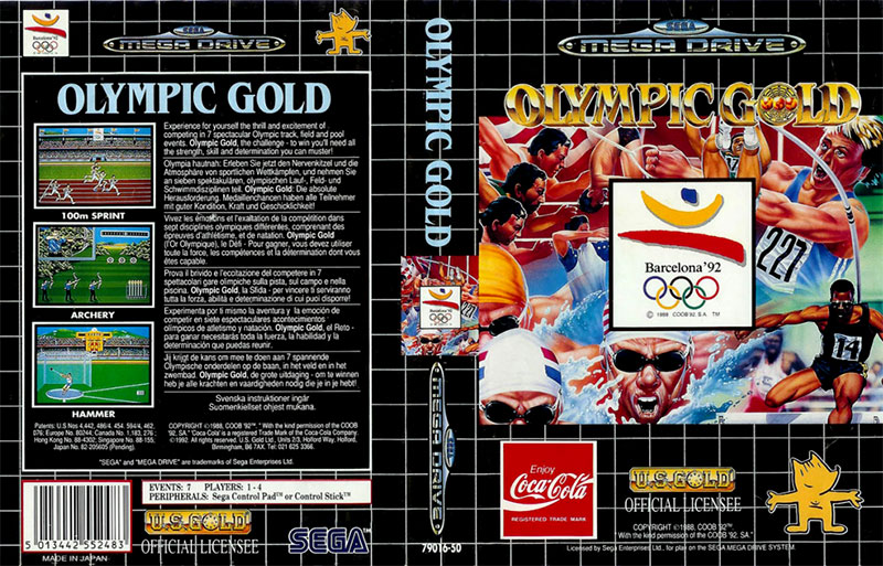 Olympic Gold : 16/20