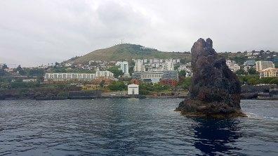 Retour à Funchal après un front de mer dégueulasse, chargé d'hôtels