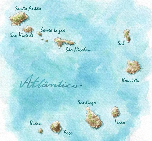 L'archipel du Cap-Vert et ses îles