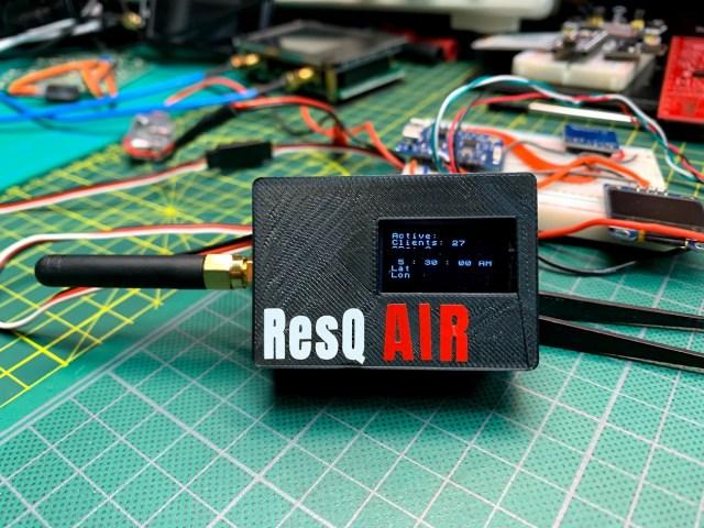 ResQ ESP8266 Search and Rescue