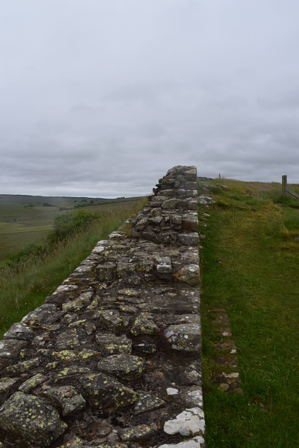View on the Hadrian's Wall