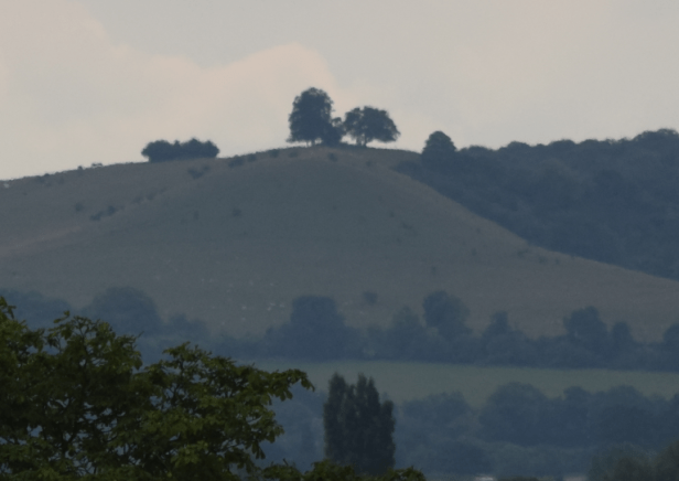 Beacon Hill, Chiltern Hills seen from Aylesbury