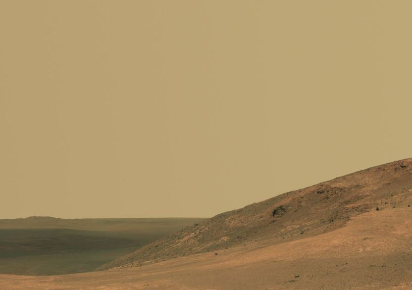Panorama Valley Opportunity rover