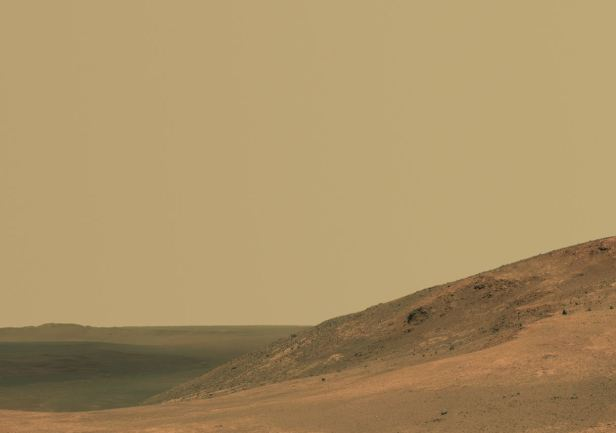 Mars Opportunity Panorama of the Marathon Valley